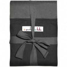 Echarpe de portage L'Originale anthracite poche noire