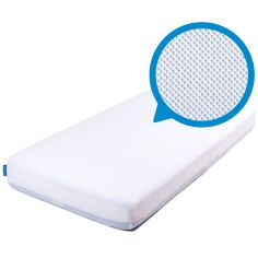 Drap housse Sleep Safe Premium blanc (60 x 120 cm)