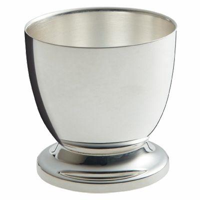 Coquetier Mistral (métal argenté)  par Ercuis