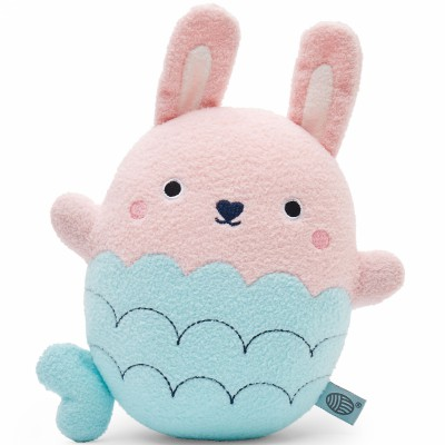 Peluche lapin sirène Ricebombshell rose clair (20 cm) Noodoll