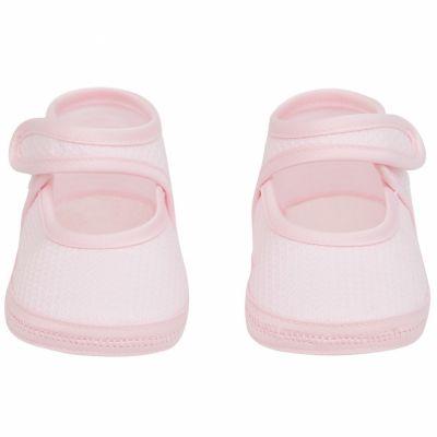 Chaussures été roses (9-12 mois) Cambrass