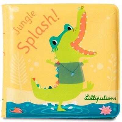 Livre de bain magique Anatole splash  par Lilliputiens