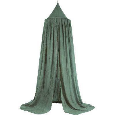 Ciel de lit Ash green vert (245 cm)  par Jollein