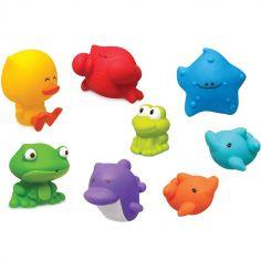 Coffret jouets de bain (8 pièces)