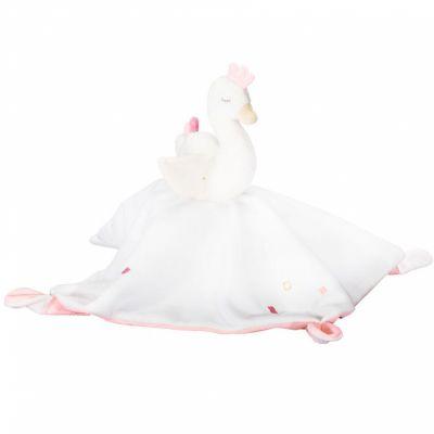 Doudou plat cygne Baby Swan  par Sauthon