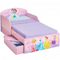 Lit enfant design princesses avec tiroirs de rangement 70 - Lit enfant rangements ...