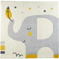 Tapis carré Babyfan (110 x 110 cm)