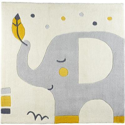 Tapis carré Babyfan (110 x 110 cm)  par Sauthon