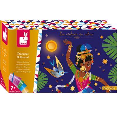 Cartes créatives Dorures Bollywood Les ateliers du calme Janod