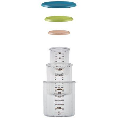 Coffret 3 pots de conservation gigogne 120, 240 et 420 ml  par Béaba