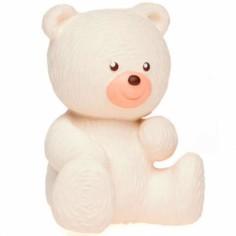 Ours polaire latex d'hévéa blanc