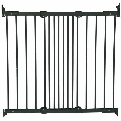 Barrière de sécurité métal Flexi Fit noire  par BabyDan