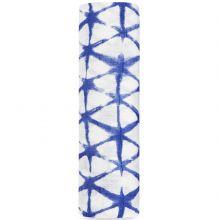 Maxi lange Silky Soft Cubic indigo (120 x 120 cm)  par aden + anais