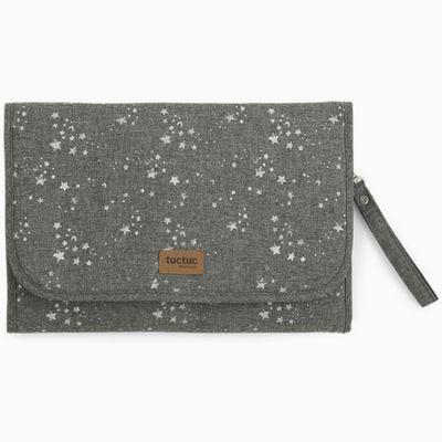 Tapis à langer Weekend Constellation Etoile gris  par Tuc Tuc