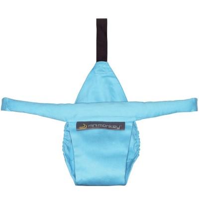 Mini siège de maintien turquoise  par Minimonkey