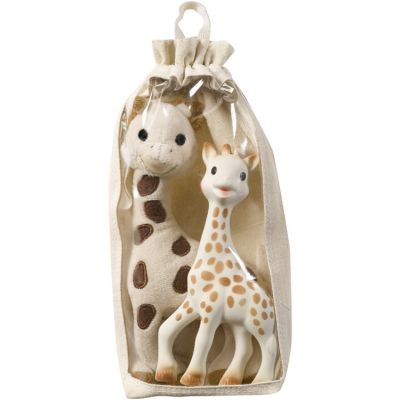 Coffret cadeau peluche et hochet Sophie la girafe Fresh Touch  par Sophie la girafe