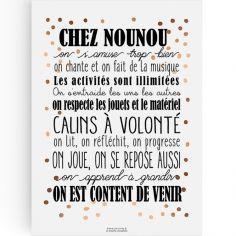 Affiche Chez Nounou (A4)