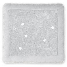 Tapis de parc Stary frost en terry mixed grey (100 x 100 cm)