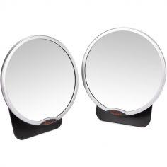 Lot de 2 miroirs de surveillance Easy View Silver