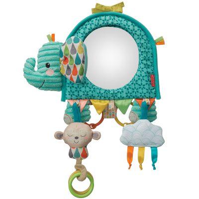 Jouet d'activités à suspendre éléphant miroir Infantino