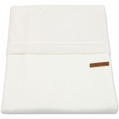 Housse de couette pour berceau Classic blanc ivoire (80 x 80 cm)  par Baby's Only