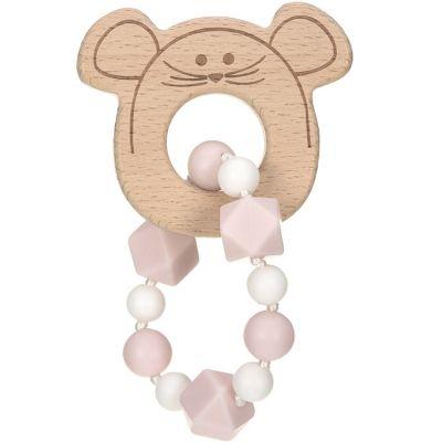 Jouet de dentition bracelet souris Little Chums  par Lässig