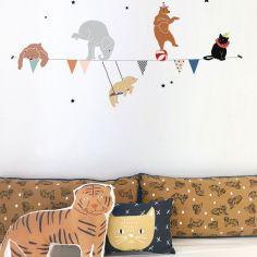 Stickers guirlande cirque (88 x 35 cm) - Mimi'lou