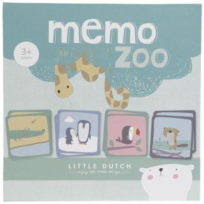 Jeu de memory Mémo Zoo  par Little Dutch