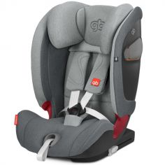 Siège auto Isofix groupe 1/2/3 Everna-Fix London Grey