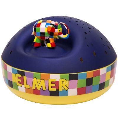 Veilleuse projecteur d'étoiles musical Elmer  par Trousselier