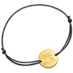 Bracelet cordon Fille en Or (or jaune 750°)