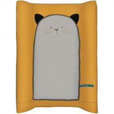 Matelas à langer chat Les Moustaches (68 x 44 cm)