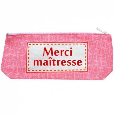 Trousse vintage rose (personnalisable) Les Griottes