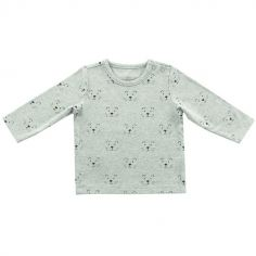 Tee-shirt Little Lion gris (6-12 mois : 74 à 80 cm)
