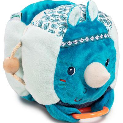 Livre bébé Marius le rhinocéros découvertes  par Lilliputiens