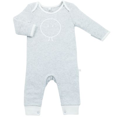 Pyjama chaud Snoozy gris (3-6 mois)  par MORI