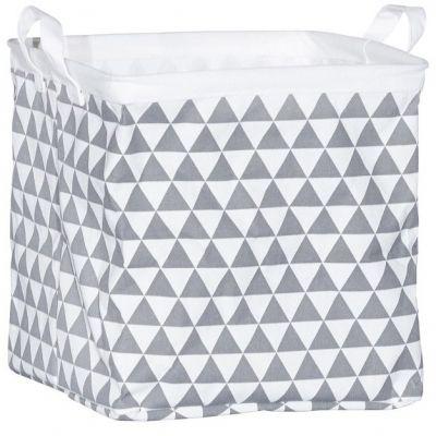 Cube de rangement triangle gris (28 x 28 x 28 cm)