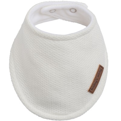 Bavoir bandana blanc Classic  par Baby's Only