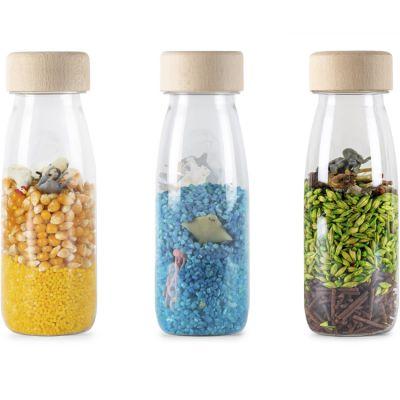 Lot de 3 bouteilles sensorielles Spy Nature
