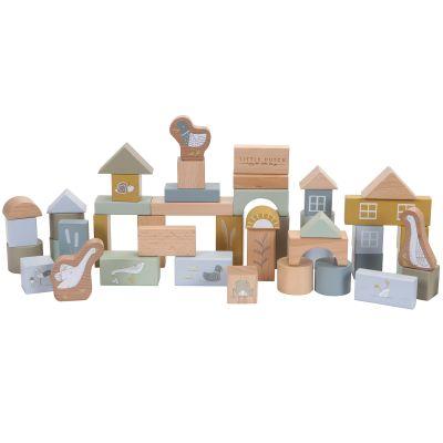 Blocs de construction Ocean (50 pièces)  par Little Dutch