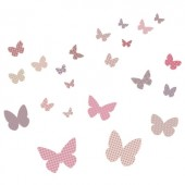 Sticker Papillons Rétro - Art for Kids