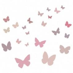 Sticker Papillons Rétro