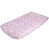 Drap housse Pink Blossom (70 x 140 cm) - Little Dutch