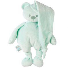 Peluche ours Lapidou menthe (36 cm)