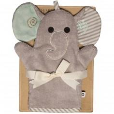 Gant de toilette marionnette Elle l'éléphant