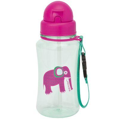 Gourde en plastique Wildlife éléphant (350 ml)  par Lässig