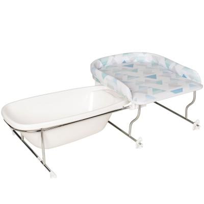 table langer avec support baignoire varix prisme par geuther. Black Bedroom Furniture Sets. Home Design Ideas