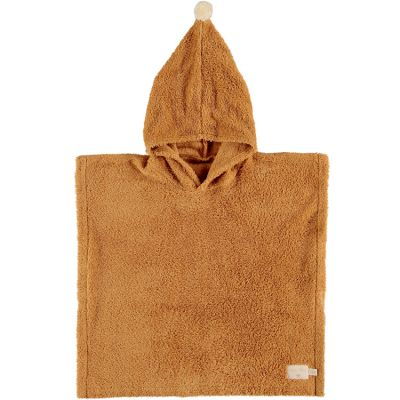 Poncho de bain caramel So cute (3-5 ans)