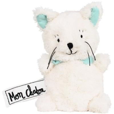 Mini peluche chat Mon Chaton (17 cm) Les P'tites Douceurs