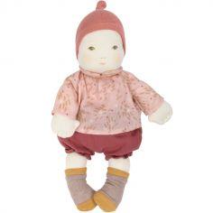 Poupée souple rose Les bébés (32 cm)